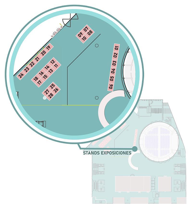Plano de la feria del corredor de Granada